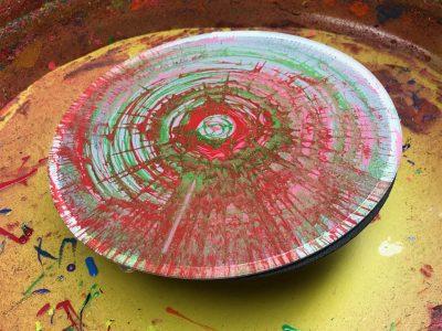 Spintees Spin Art T Shirt & Frisbee Machine Rental Cincinnati Ohio