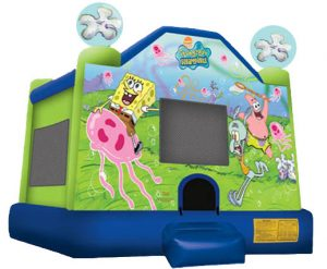 SpongeBob SquarePants Inflatable Bounce House Rental Cincinnati Ohio