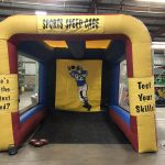 Football Sports Speed Cage Inflatable Speed Pitch with Radar Rental Cincinnati Ohio