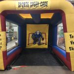 Hockey Sports Speed Cage Inflatable Speed Pitch with Radar Rental Cincinnati Ohio