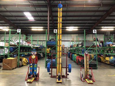 Hi Striker Strong Man Standard Clown Carnival Rental for Kids Cincinnati Ohio
