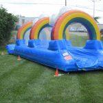 Rainbow Deluxe Surf N Slide Inflatable Slip N Slide Rental Cincinnati Ohio