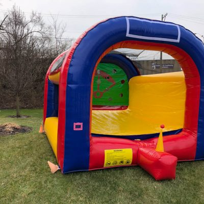 T-Ball Extreme Baseball Inflatable Rental Cincinnati Ohio