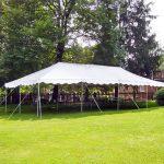 Tent 20 x 40 Pole Tent Rental Cincinnati Ohio
