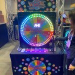 The Wheel, Digital Prize Color Wheel Rental Cincinnati Ohio