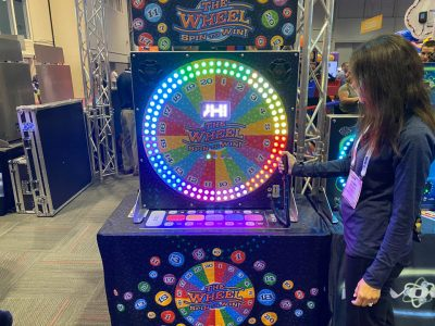 The Wheel, Digital Prize Color Wheel Rental Cincinnati Ohio