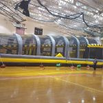 Toxic Drop Inflatable Obstacle Course Rental Cincinnati Ohio