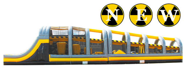 TOXIC DROP INFLATABLE OBSTACLE COURSE added to inventory!