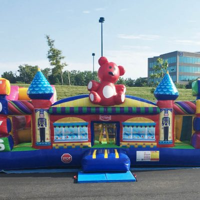 Toy Town Inflatable Preschool Playland Bounce house - Cincinnati, Ohio