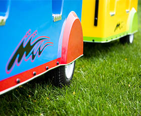 Trackless Train Rental with Engineer Cincinnati Ohio Northern Kentucky