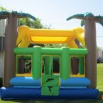 Tropical Teen & Adult Inflatable Bounce House Rental Cincinnati Ohio