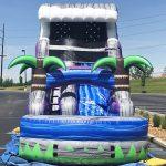 18' Tsunami Inflatable Water Slide - Wet or Dry Slide - Cincinnati, Ohio