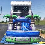 18' Tsunami Inflatable Water Slide - Wet or Dry Slide - Cincinnati, Ohio