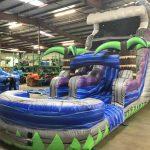 16' Tsunami Inflatable Water Slide - Wet or Dry Slide - Cincinnati, Ohio