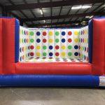 Inflatable 3-D Twister Game Rental Cincinnati Ohio