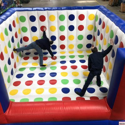 Inflatable 3-D Twister Game Rental Cincinnati Ohio