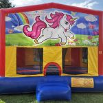 Unicorn Playhouse - Customize-able Inflatable Bounce House Rental Cincinnati Ohio