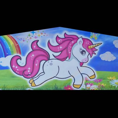Unicorn Playhouse - Customize-able Inflatable Bounce House Slide Combo Rental Cincinnati Ohio