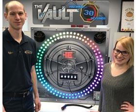 The Vault Interactive Timing Game Rental Cincinnati Ohio