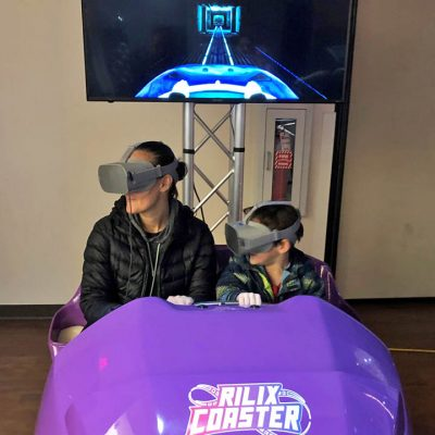 Virtual Reality (VR) Roller Coaster Ride Simulator - Arcade Game Rental - Cincinnati, Ohio