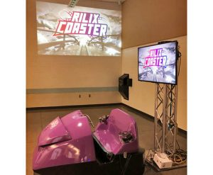 Virtual Reality (VR) Roller Coaster with Projector Ride Simulator - Arcade Game Rental - Cincinnati, Ohio
