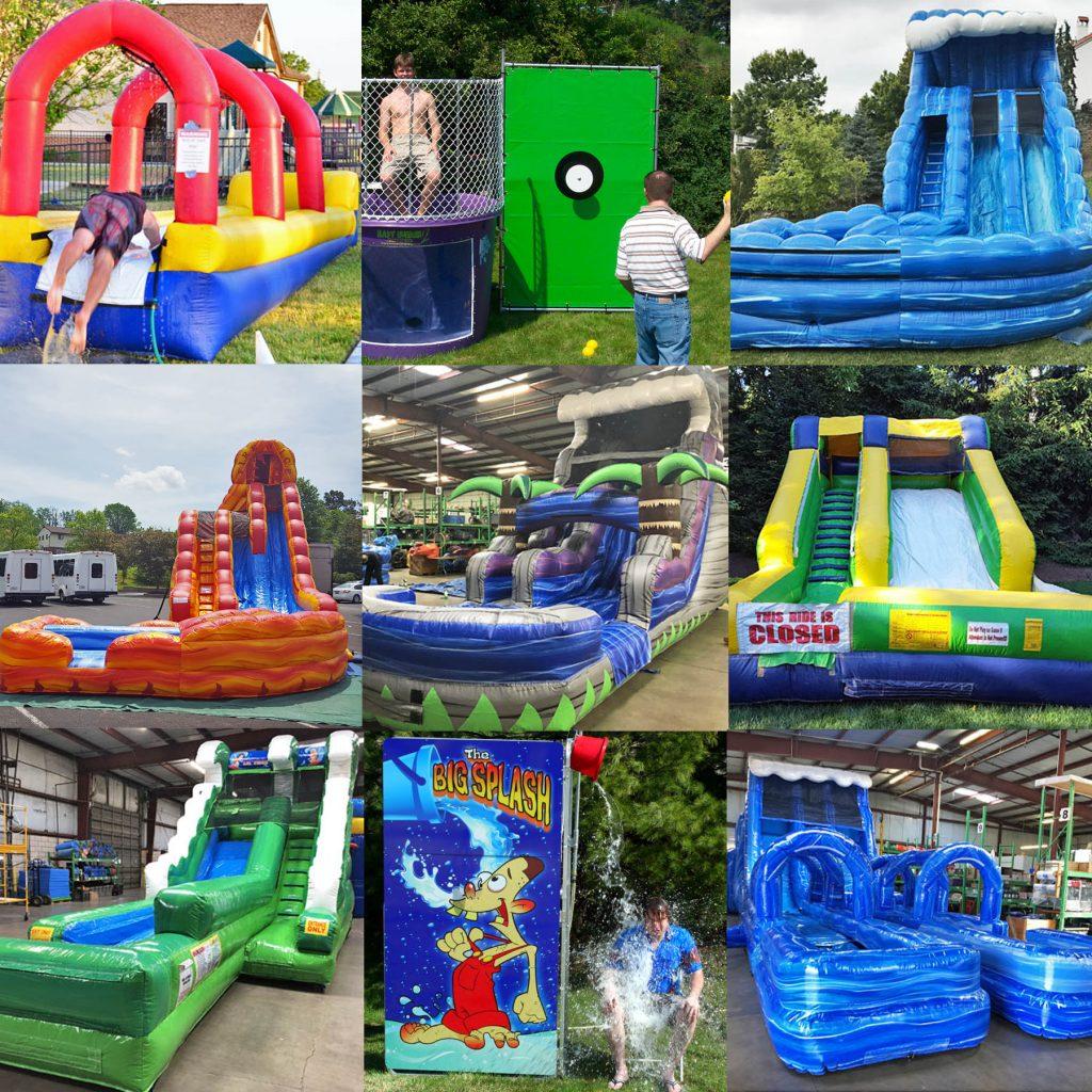 Water Game & Inflatable Water Slide Rental Cincinnati Ohio