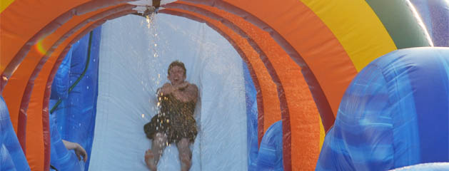 Water Game & Inflatable Water Slide Rental Cincinnati Ohio