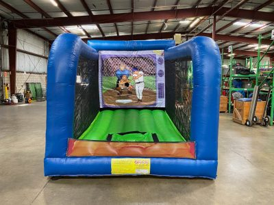 Wild pitch inflatable mechanical baseball game rental cincinnati ohio