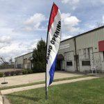 Wind Feather Sign - Grand Opening Rental Cincinnati Ohio