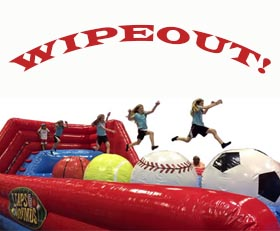 Wipeout - Extreme Ball Run Inflatable Rental Cincinnati Ohio