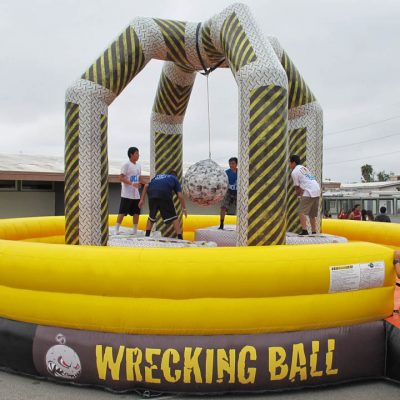 Wrecking Ball Inflatable Party Rental Cincinnati Ohio