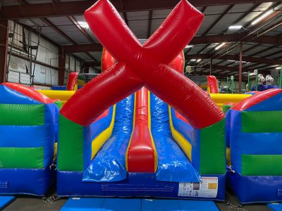 X Factor Inflatable Obstacle Course Rental Cincinnati Ohio