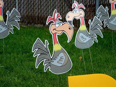 Ole Buzzard Birthday Yard Cards & Signs Rentals Cincinnati Ohio