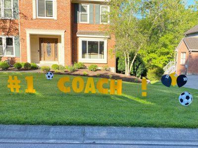 Sports Balls Birthday Yard Cards & Signs Rentals Cincinnati Ohio