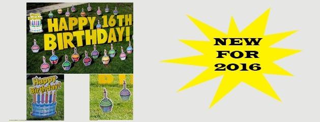 YARD CARD – BIRTHDAY CUPCAKES coming soon!