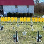 Customized Giant Yard Card Letters Greetings Birthday Sign Party Rental Cincinnati Ohio