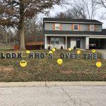 Over the Hill Emojis Yard Cards & Signs Rentals Cincinnati Ohio