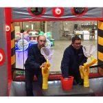 Battlezone Inflatable Cannonball Air Blaster with Interactive Light Kit Rental Cincinnati Ohio