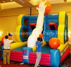 Full Court press, Basketball Inflatable Rental - Cincinnati, Ohio