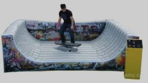 Mechanical Surfboard Skateboard Snowboard Rental with Inflatable Cincinnati, Ohio