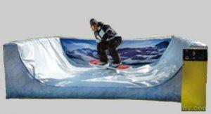 Mechanical Surfboard Skateboard Snowboard Rental with Inflatable Cincinnati, Ohio
