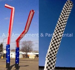 Sky Dancer, Inflatable Air Dancer Puppet - Flag Rental Cincinnati Ohio