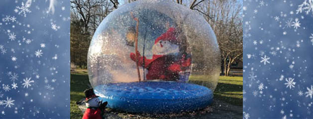 Giant Inflatable Snow Globe Rental