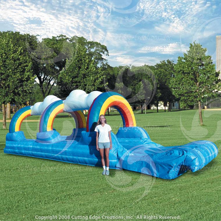 Surf N Slide Inflatable Water Slide Rainbow Deluxe Rental
