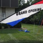 Wind Feather Sign - Grand Opening Rental