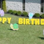 Zoo Animal Birthday Yard Cards & Signs Rentals Cincinnati Ohio