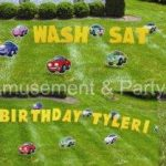 Yard Card - Cars Lawn Greeting Rental Cincinnati Ohio