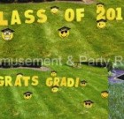 Yard Card – Graduation Smiley Faces