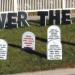 Over the hill Yard Cards & Signs Rentals Cincinnati Ohio